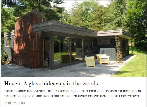 Haven: A glass hideaway in the woods
